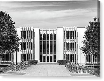 Oberlin College King Building Canvas Print by University Icons
