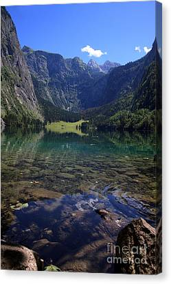 Spectacular Canvas Print - Obersee by Nailia Schwarz
