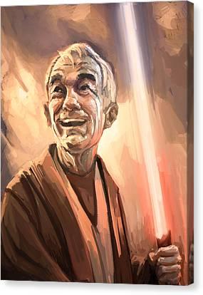 Obi Ron Kenobi Canvas Print by Chris Reach