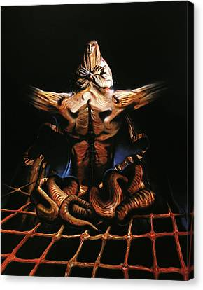 Superrealistic Canvas Print - Obliveon Nemesis by Sv Bell