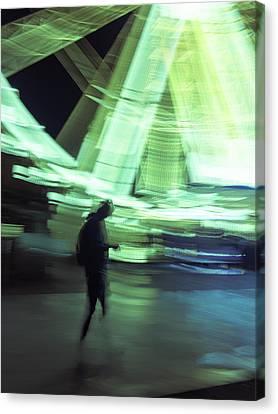 Canvas Print featuring the photograph Oblivion by Alex Lapidus
