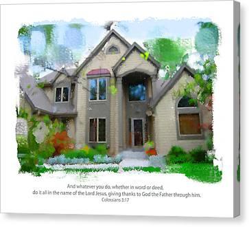 Obrien Home 2 Canvas Print