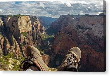 Observation Hike Canvas Print by Cole Pattschull