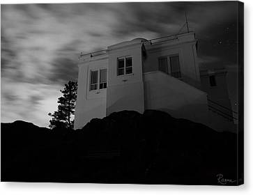 Observatory Dawn Canvas Print