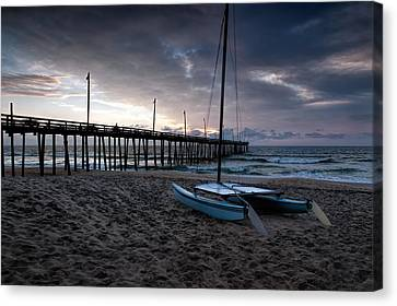 Obx Morning Canvas Print