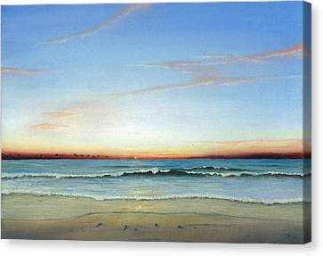 Obx Sunrise Canvas Print by Albert Puskaric