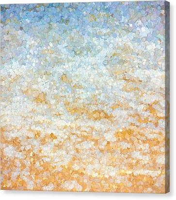 Impressionist Canvas Print - Ocean Abstract by Pati Photography