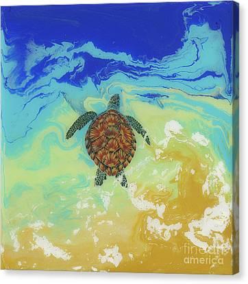 Ocean Bound Canvas Print