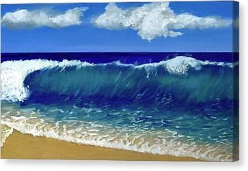 Ocean Breeze Canvas Print by Caroline Jones