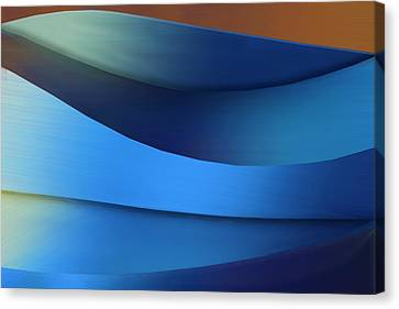 Canvas Print featuring the photograph Ocean Breeze by Paul Wear
