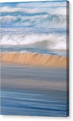 Ocean Caress Canvas Print