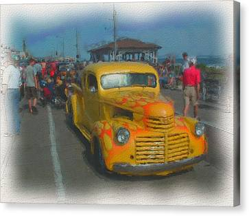 Ocean City Hot Rod Canvas Print by Kevin  Sherf