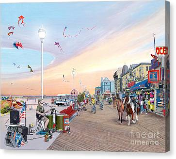 Ocean City Maryland Canvas Print