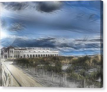 Ocean City Musicpier I Wuz There Canvas Print by Kevin  Sherf