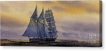 Ocean Dawn Canvas Print by James Williamson