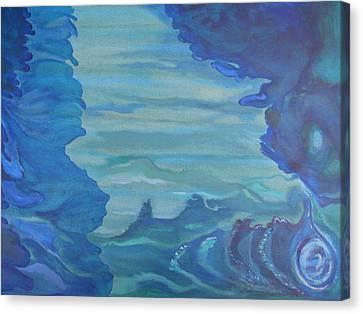 Ocean Dream Canvas Print by Lindie Racz