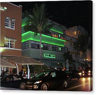 Ocean Drive Miami Beach Canvas Print