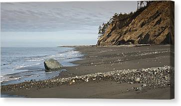 Ocean Front View Canvas Print by Chad Davis