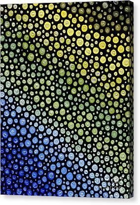 Canvas Print - Ocean Gradient by Kasia Bitner