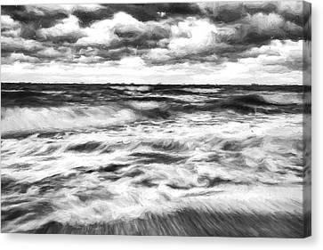 Ocean In Flux II Canvas Print by Jon Glaser