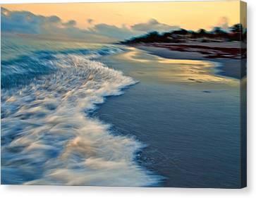 Ocean In Motion Canvas Print