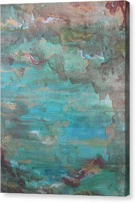 Ocean Canvas Print by Lindie Racz
