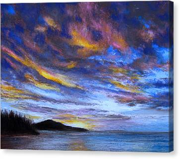 Ocean Sky Canvas Print by Susan Jenkins