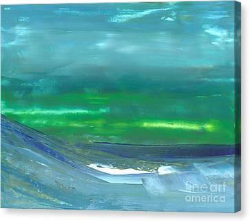 Ocean Swell Canvas Print