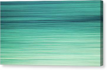 Ocean Tranquility Canvas Print by Stelios Kleanthous