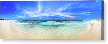 Canvas Print featuring the photograph Ocean Tranquility, Yanchep by Dave Catley