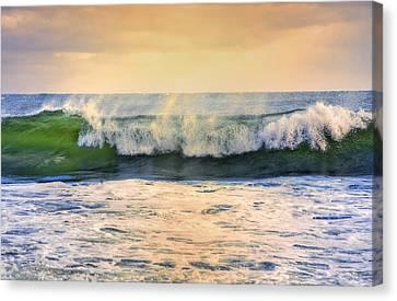 Ocean Waves Canvas Print by Dapixara Art