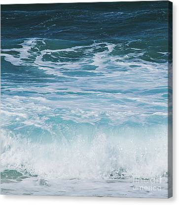 Ocean Waves From The Depths Of The Stars Canvas Print by Sharon Mau