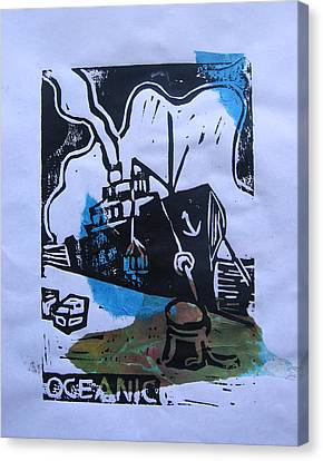 Oceanic Canvas Print by Adam Kissel