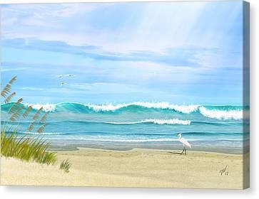 Oceanic Landscape Canvas Print