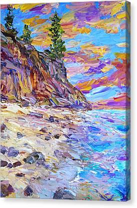 Ocean's Domain Canvas Print by Steven Boone
