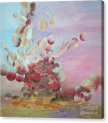 Ocean's Draw Canvas Print by Jeni Bate
