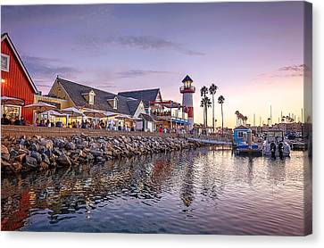 Oceanside Harbor Canvas Print by Ann Patterson