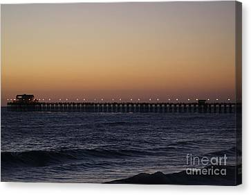 Oceanside Pier Canvas Print by Jenny Revitz Soper
