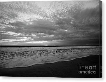 Canvas Print featuring the photograph Oceanside Surf by John F Tsumas