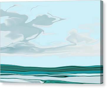 Oceanus Iv Canvas Print by Pauline Thomas