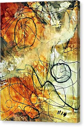 Ochre 43 Canvas Print by Shelley Graham Turner