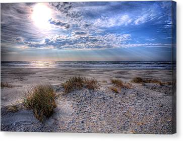 Ocracoke Winter Dunes II Canvas Print