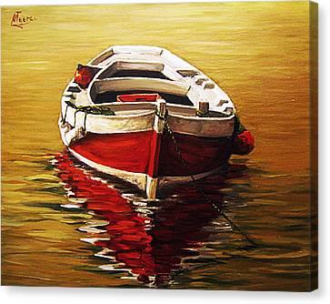 Ocre S Sea Canvas Print