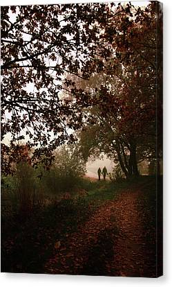 Melancholy Canvas Print - October by Cambion Art