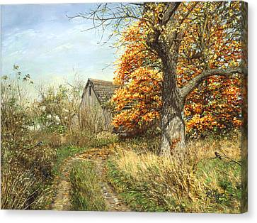 October Glory Canvas Print by Doug Kreuger