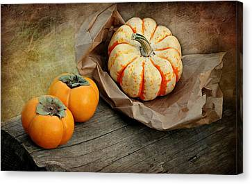 October Produce Canvas Print by Diana Angstadt
