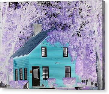 Canvas Print featuring the photograph October  by Reina Resto