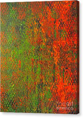 October Rust Canvas Print by Jacqueline Athmann