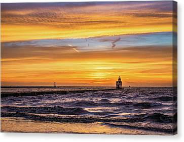 Canvas Print featuring the photograph October Surprise by Bill Pevlor