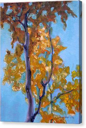 October Canvas Print by Tahirih Goffic